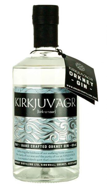 Kirkjuvagr Gin - Orkney gin