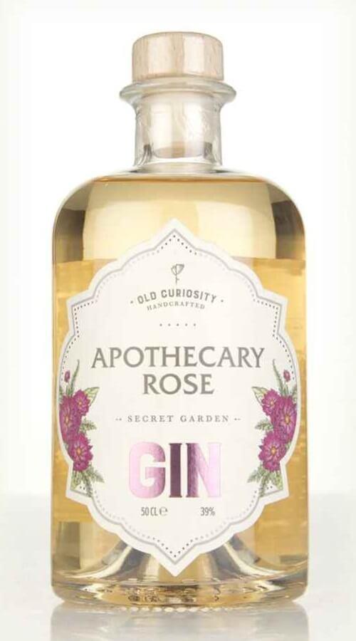 Old Curiosity Apothecary Rose Secret Garden Gin