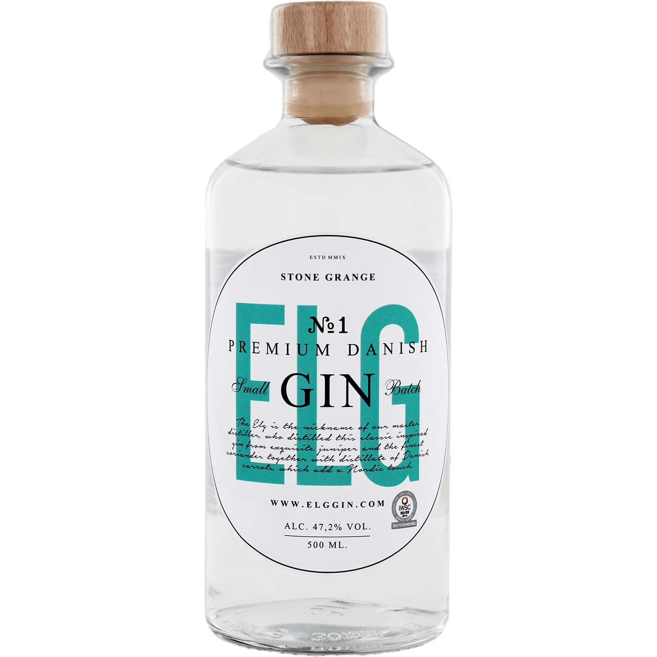 e58587a03fc Køb ELG No 1 Gin 47,2% til kun 259,- Fri fragt fra 400,-