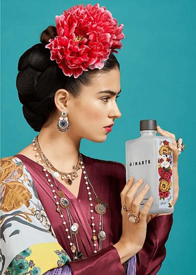 Frida Kahlo Gin