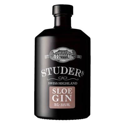 Studers Swiss Highland Sloe Gin