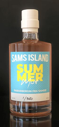 Sams Island Rabarber Gin