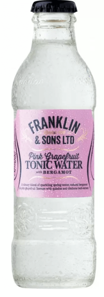 Franklin & Sons Pink Grapefruit with Bergamot