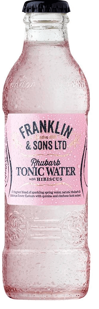 Franklin & Sons Rhubarb with hibiscus