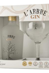 L'arbre gin gaveæske glas