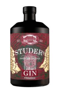 Studer Swiss Highland Sloe Gin Cinnamon - Limited Winter Edition
